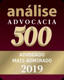 Análise Advocacia 500 - Advogado Mais Admirado 2019