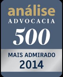 Análise Advocacia 500 - Mais Admirado 2014