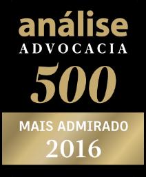 Análise Advocacia 500 - Mais Admirado 2016